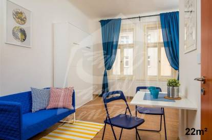 1 bedroom, Prague 4, Nusle, street: Čestmírova