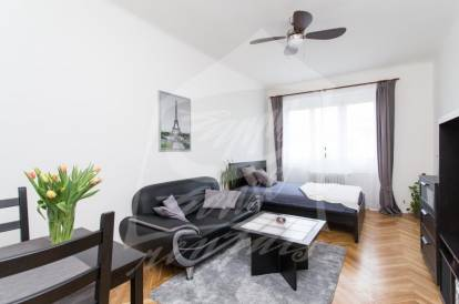 1 bedroom, Prague 3, Žižkov, street: Na hlídce